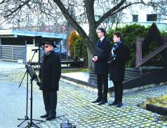 Valašské Meziříčí si připomnělo památku obětí holocaustu