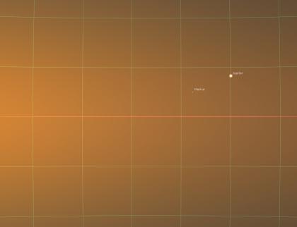Potkají se tři planety a Měsíc