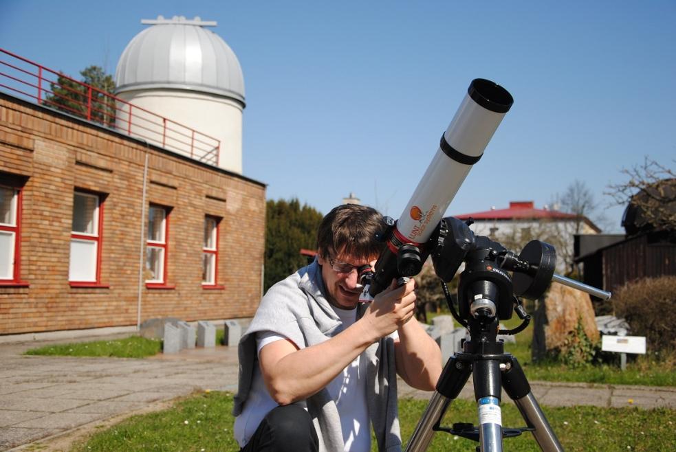 Na Slunce s novým dalekohledem