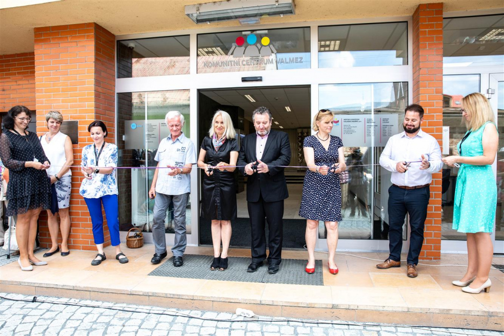 Ve Valašském Meziříčí bylo slavnostně otevřeno Komunitní centrum