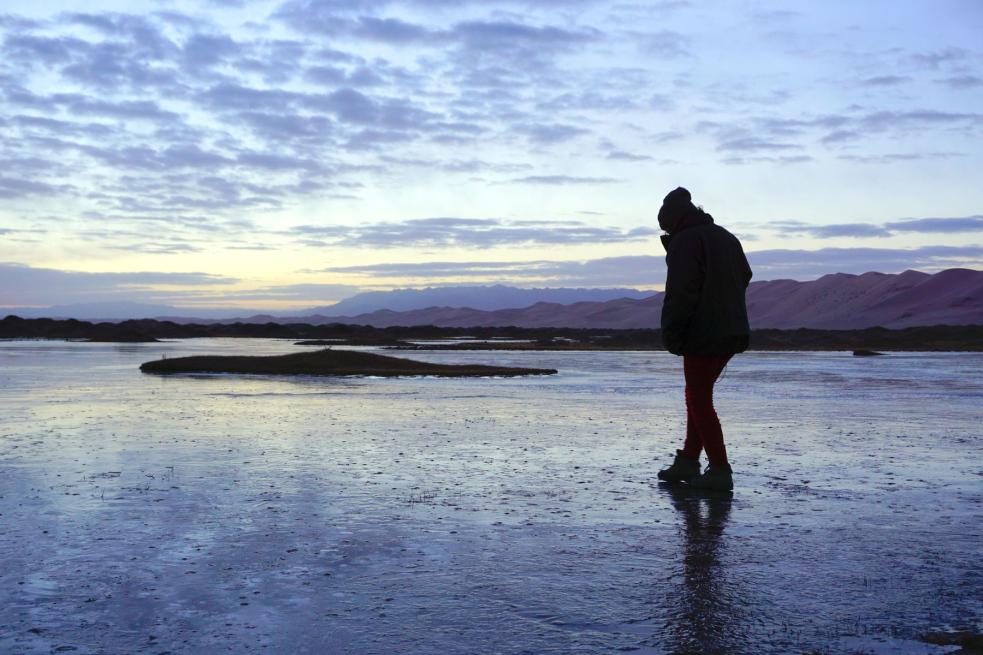 Vstup na zamrzlé hladiny vodních nádrží není bezpečným varuje Povodí Moravy