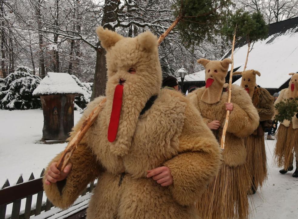 Vánoční jarmark ve Valašském muzeu v přírodě