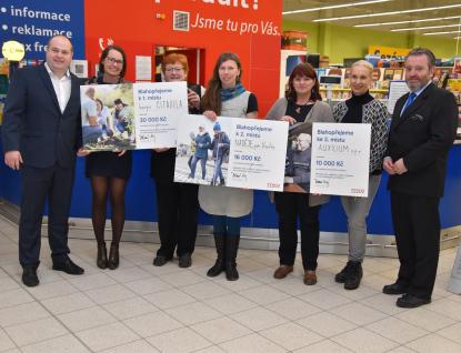 Hospic Citadela zvítězil vhlasování zákazníků Tesco a získal 30 tisíc korun