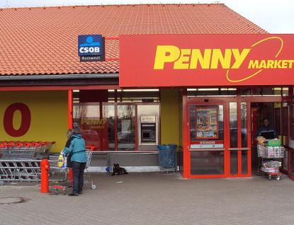 V areálu meziříčského autobusového nádraží roste Penny Market