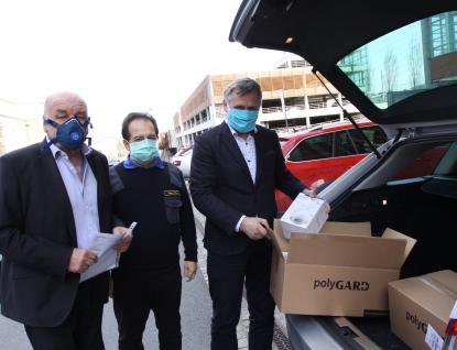 Zlínský kraj drží spolu: Firma EGO Zlín věnovala potřebným 500 respirátorů