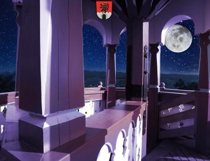 Jurkovičova rozhledna zve na večerní výhledy