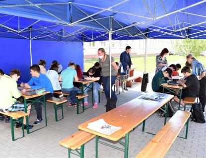 Děti ze Šafařky se učí na čerstvém vzduchu