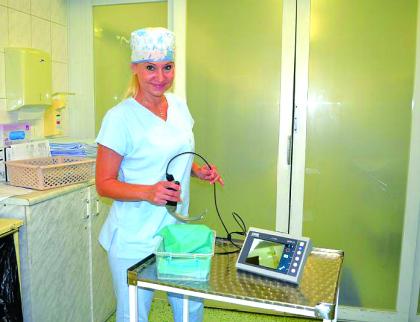 Nemocnice Valašské Meziříčí pořídila moderní videolaryngoskop