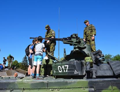 Ve Valašském Meziříčí bude kvidění vojenská technika