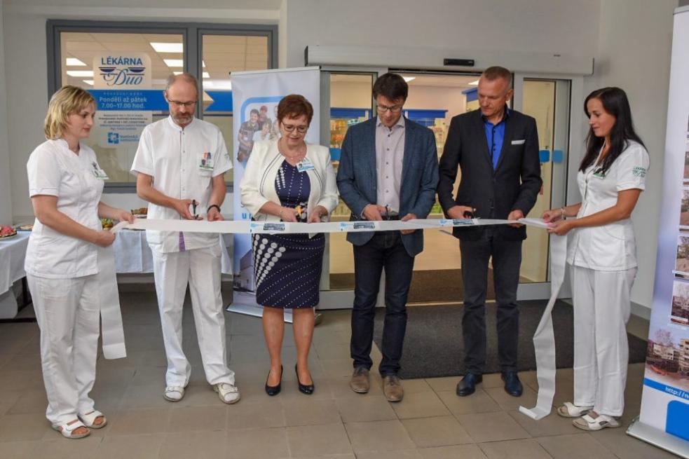 Otevření rehabilitačního oddělení a nové lékárny ve vsetínské nemocnici