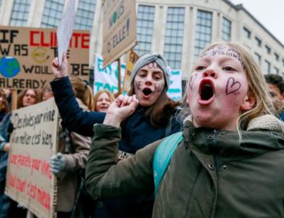 Studenti na Vsetíně pořádají stávku za klima. Přidat se má každý