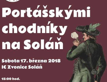 Portášskými chodníky na Soláň - křest nové knihy o portáších