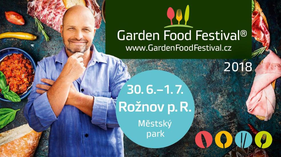 Na Garden Food Festival do Rožnova přijede i Zdeněk Pohlreich