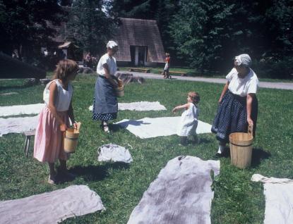 """Ve Valašském muzeu vpřírodě se bude prát  """"Velké prádlo"""""""