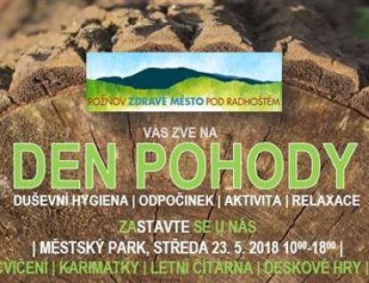 Ve středu do Rožnova na LeaderFEST, Den pohody i farmářské trhy