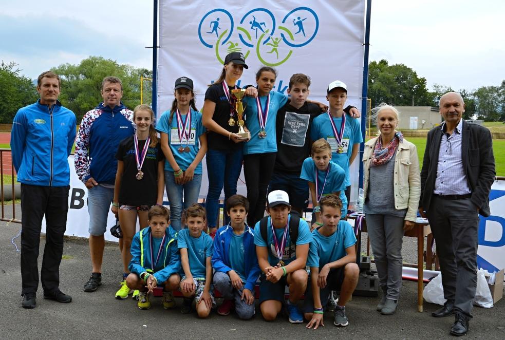 Valašskou olympiádu ovládla základní škola Vyhlídka