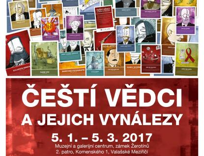 Nové výstavy ve Valašském Meziříčí: Bedřich Hrozný a čeští vynálezci v karikaturách