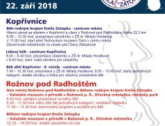 """V sobotu proběhne """"Běh rodným krajem Emila Zátopka"""""""