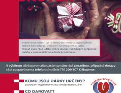 Dobrý skutek. Lidé mohou obdarovat pacienty, kteří stráví Vánoce na lůžku ve zlínské nemocnici