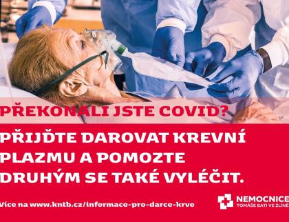 Hokejisté Zlína jsou po prodělání koronaviru ochotní darovat plazmu, pomůže léčit další pacienty