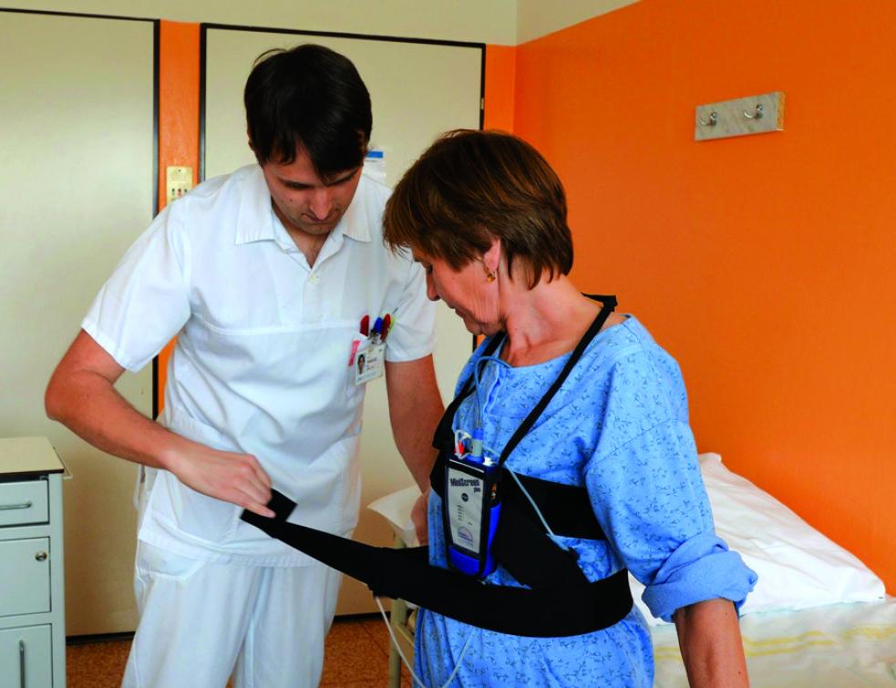 Špatný spánek může být vážný problém, vyřešit jej nyní pomohou  ve specializované laboratoři v Uherskohradišťské nemocnici