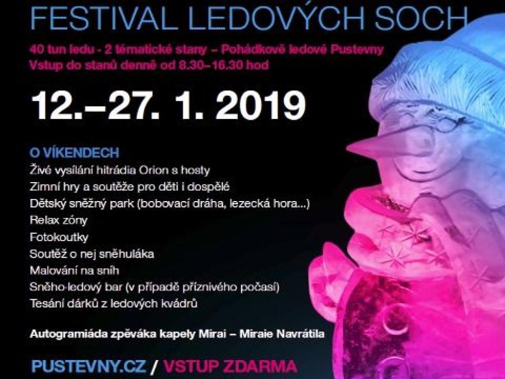 Kam vyrazit tento týden v kraji: Festival ledových soch, koncert na Soláni i porce jazzové muziky