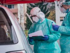Odběrový COVID stan ve Zlíně v pátek skončil, nemocnice budou odebírat stěry v ambulancích