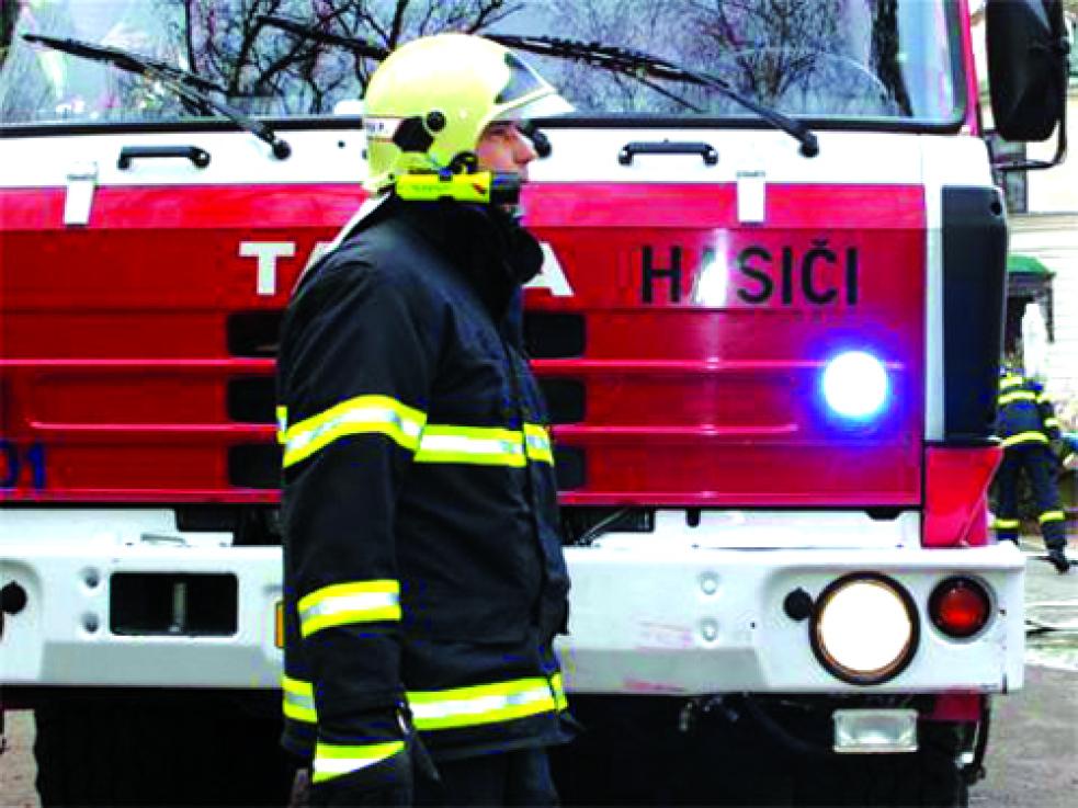 Pozor na požáry, varují hasiči