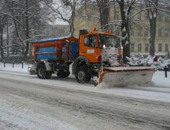 Nastává období zimní údržby silnic